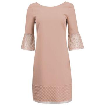 Sukienka model Rosa beżowa