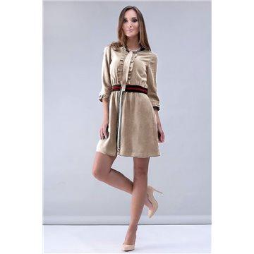 Sukienka model Samuela beżowa