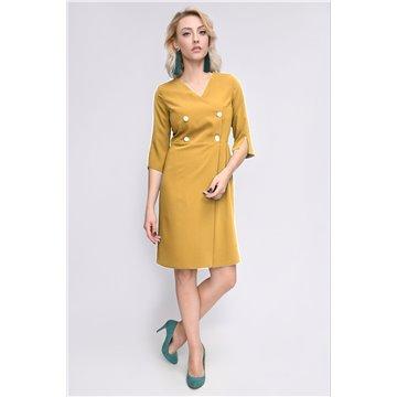 Sukienka model Beea ceglasta