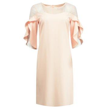Sukienka model Berenika pudrowy róż