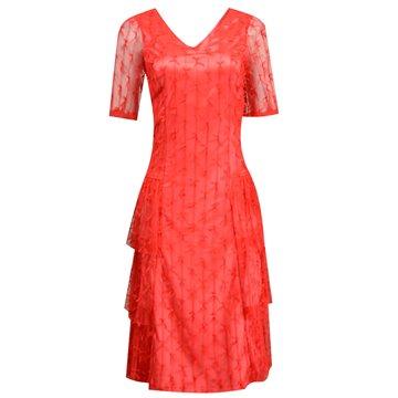 Sukienka wizytowa Anja czerwona