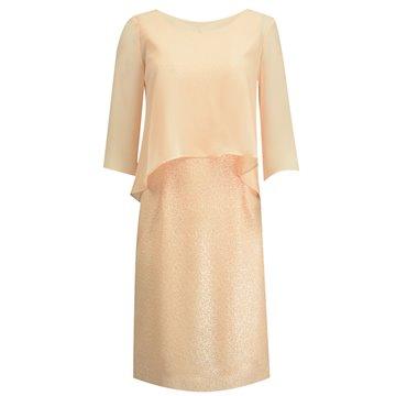 Sukienka wizytowa Atena brzoskwiniowa