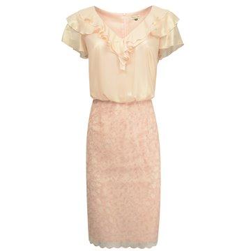 Sukienka wizytowa Isla różowa