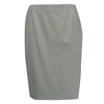 Spódnica Kaja szara wełna