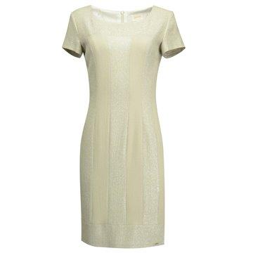 Sukienka wizytowa oliwkowa