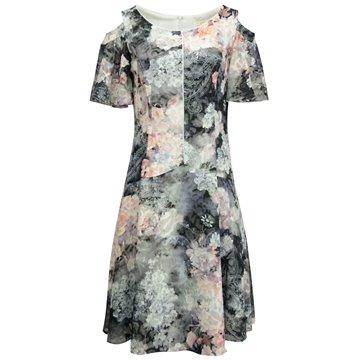 Sukienka wizytowa kolorowe wzory
