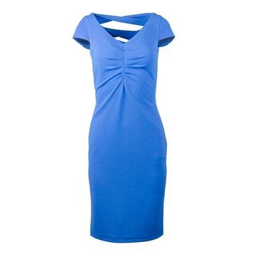 Sukienka model Roma chabrowa
