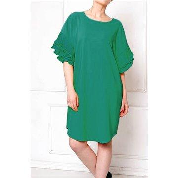 Sukienka FAB-58149 zielona