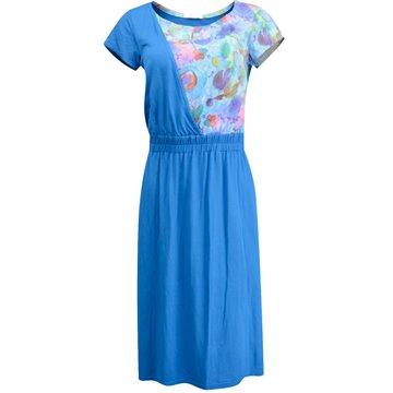 Sukienka FAB-89-SB niebieska