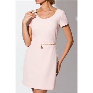 Sukienka model Wago brzoskwiniowa