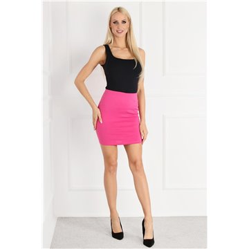 Spódnica E13/122 różowa mini