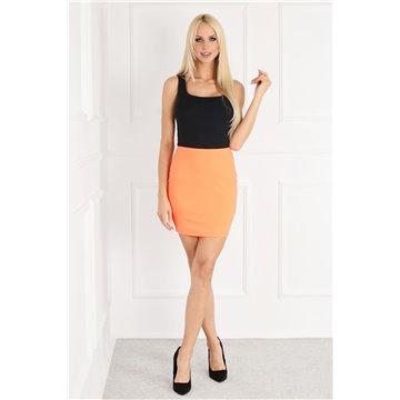 Spódnica E13/122 pomarańczowa mini