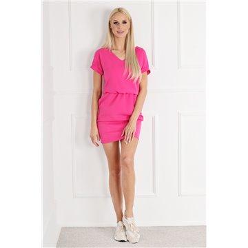 Sukienka E11/122 różowa