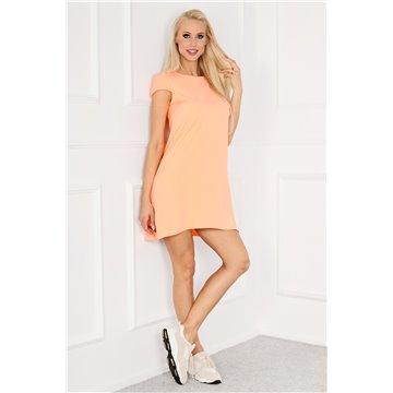 Sukienka E10/131 pomarańczowa