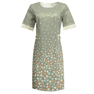 Sukienka wizytowa szara model Edna