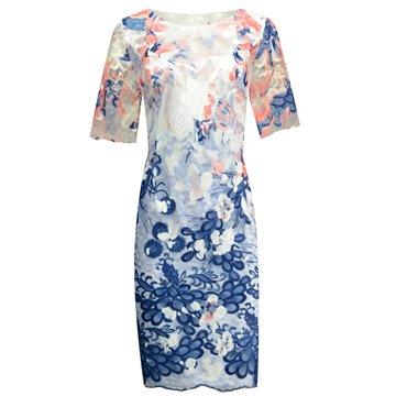 Sukienka model Balbina niebieska