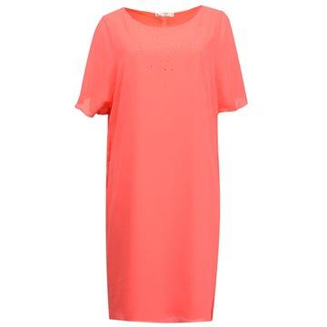 Sukienka wizytowa model Peti malinowa