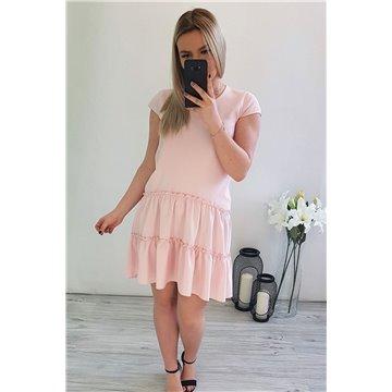 Sukienka C17/110 jasny róż