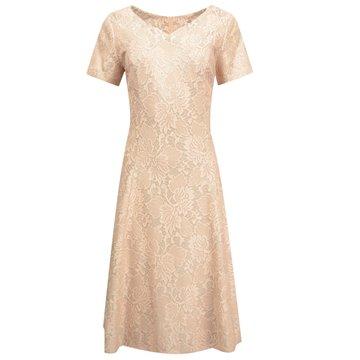 Sukienka wizytowa model Justyna różowa