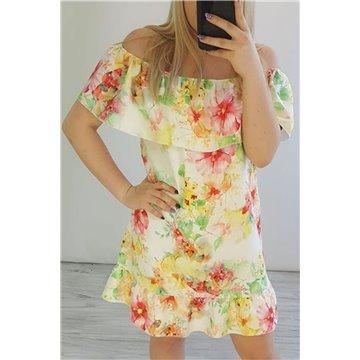 Sukienka C43/27 kwiatki