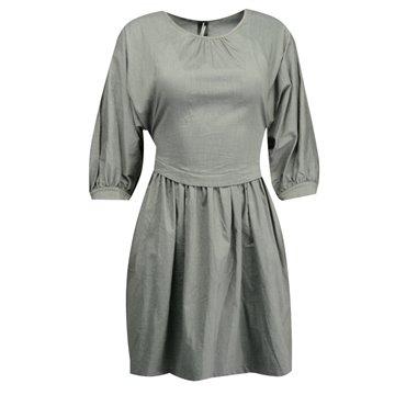 Sukienka szara bawełna
