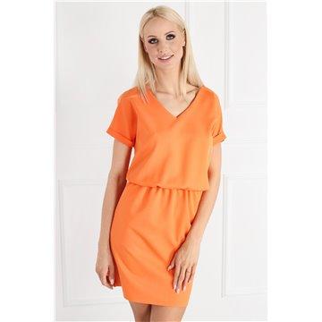 Sukienka E11/22 pomarańczowa