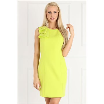 Sukienka E02/19 limonkowa