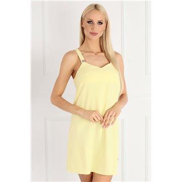 Sukienka A51/27 żółta