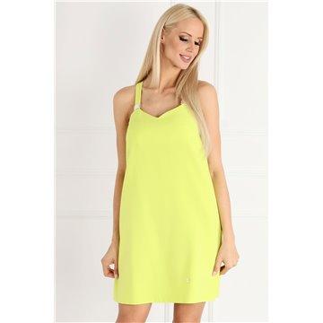 Sukienka A51/19 limonkowa