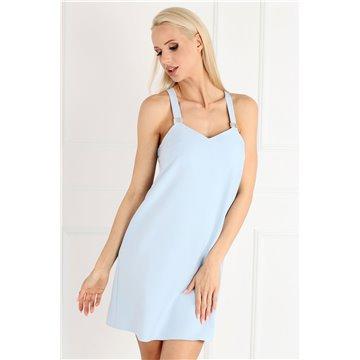 Sukienka A51/89 błękitna