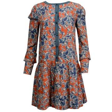 Sukienka granatowe wzory