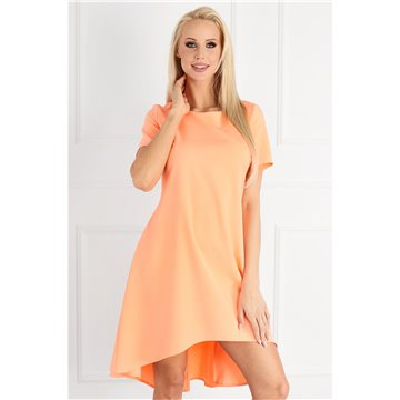 Sukienka E03/131 pomarańczowa