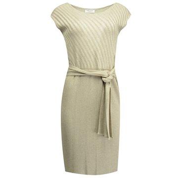 Sukienka 8206 dzianina beżowa