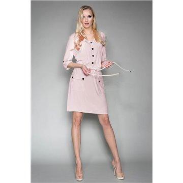 Sukienka model Magda brudny róż