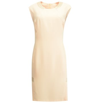 Sukienka 8068 brzoskwiniowa