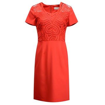 Sukienka model Mira czerwona