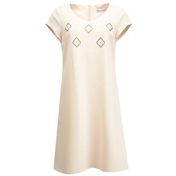 Sukienka wizytowa model Jowita różowa