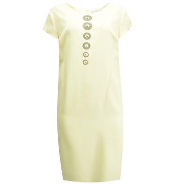 Sukienka wizytowa model Jowita żółta
