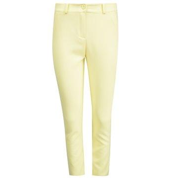 Spodnie damskie model Batiny cytrynowe