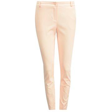 Spodnie damskie model Ewan brzoskwiniowe