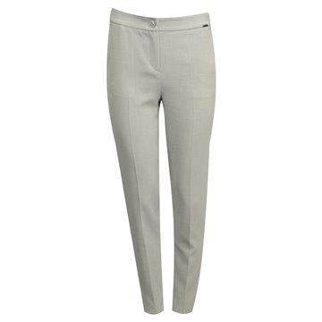 Spodnie damskie popielate
