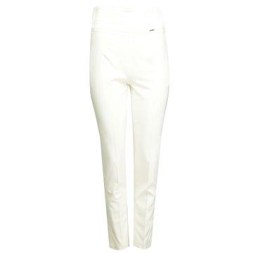 Spodnie damskie białe