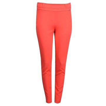 Spodnie damskie czerwone