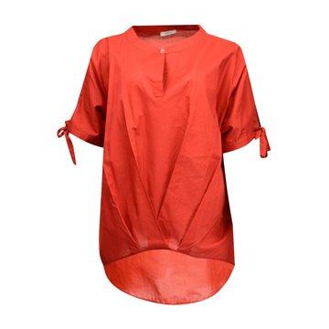 Bluzka damska FAB-5378 czerwona