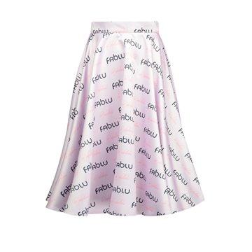 Spódnica fab liliowa
