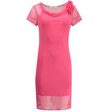 Sukienka wizytowa Judyta różowa