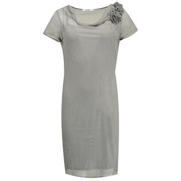 Sukienka wizytowa Judyta szara