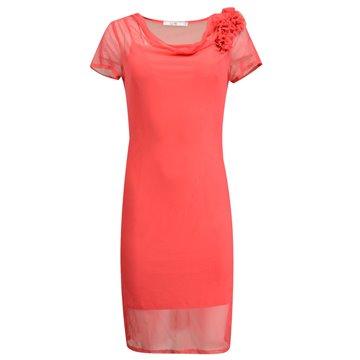 Sukienka wizytowa Judyta czerwona