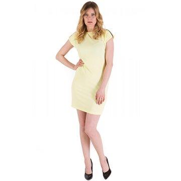 Sukienka wizytowa Zibi żółta