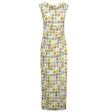 Sukienka maxi kolorowe wzory